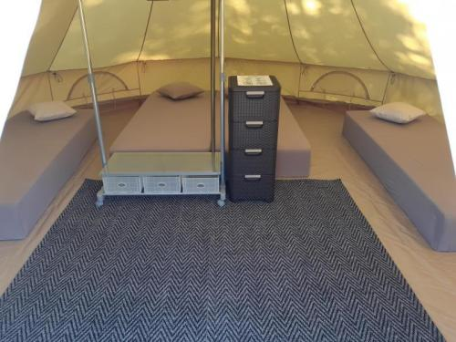 Glamping Mereoja Seaview Caravan & Camping