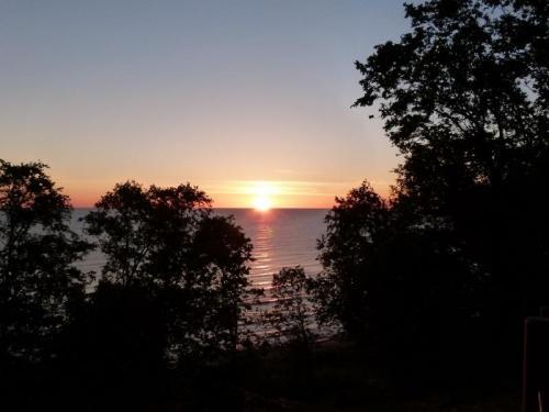 Mereoja Camping beach sunrise